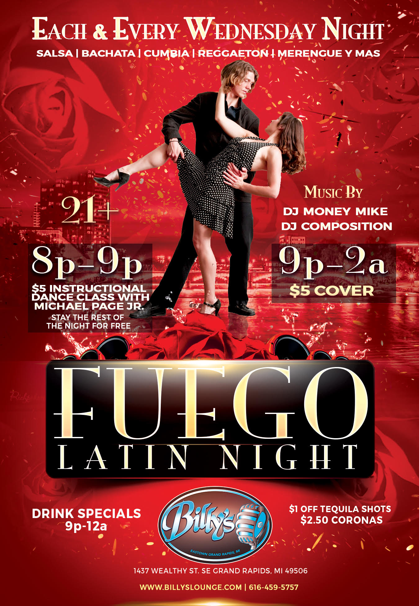 Wednesday - Fuego Dance Party